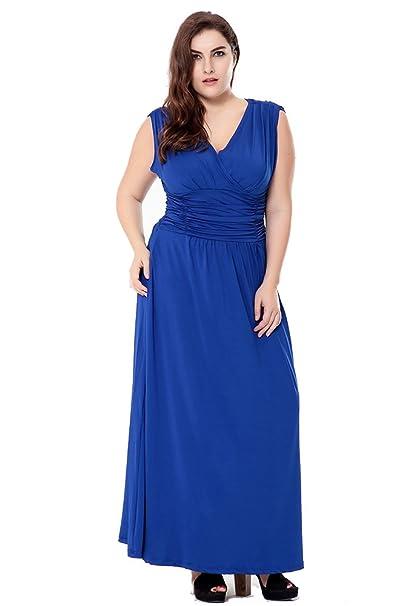 Amazon vestidos de fiesta largos tallas grandes