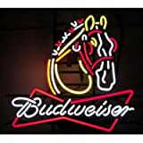 Neonetics 5BUDCL Budweiser Clydesdale Neon Business Sign