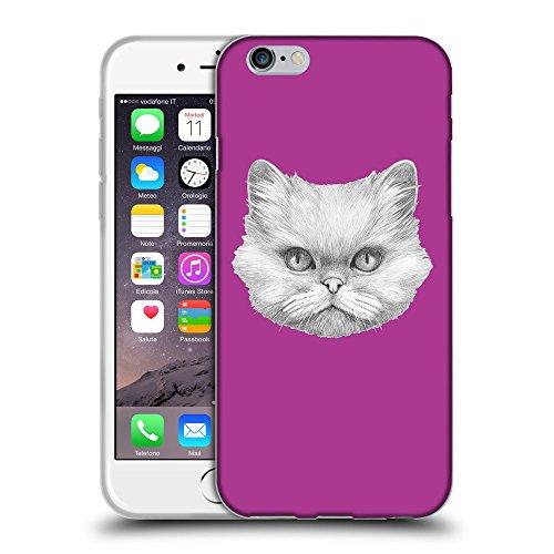 "GoGoMobile Coque de Protection TPU Silicone Case pour // Q05330621 chat persan byzantin // Apple iPhone 6 PLUS 5.5"""