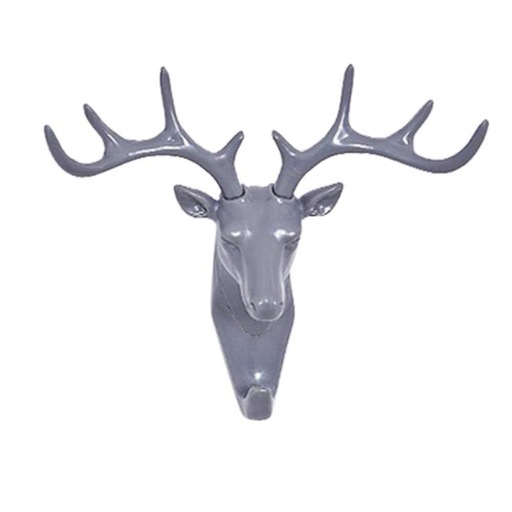 caidi Gancho con Llave Cabeza de Ciervos 3D Mignon Animal ...