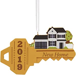 Hallmark New Home Key Dated 2019 Tree Trimmer Ornament