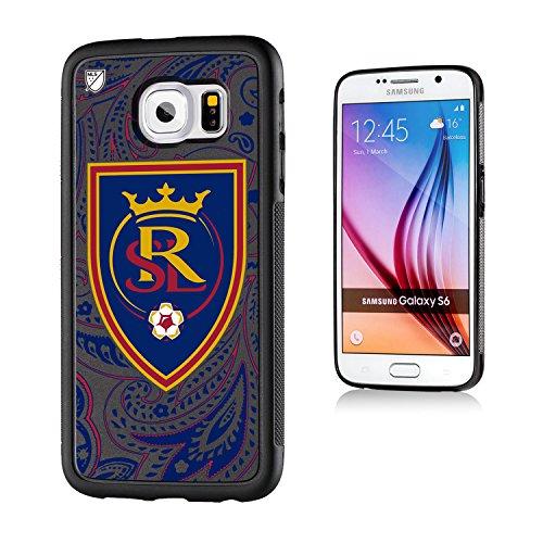 Keyscaper MLS Real Salt Lake Paisley Bump Case for Galaxy S6, Black by Keyscaper