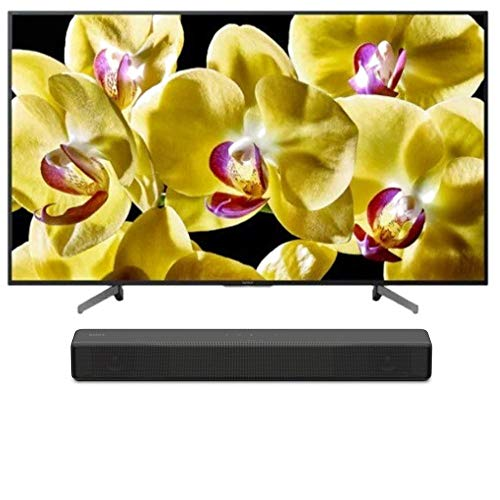 "Sony XBR-43X800G BRAVIA XBR X800G Series - 43"" Class (2019 Model) with SONY HT-S200F 2.1 Channel Soundbar with Integrated Subwoofer Bundle"