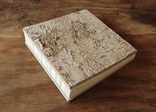 Handmade Wood Photo Album - Wedding or Family Scrapbook - Black Walnut Wood by Three Trees Bindery