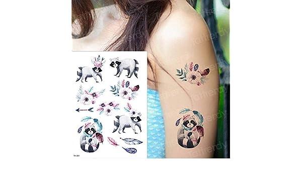 Handaxian 3 Piezas niño niño Tatuaje Pegatina Mariposa Animal ...