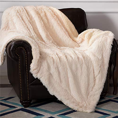 Bedsure Reversible Sherpa Throw Blanket product image