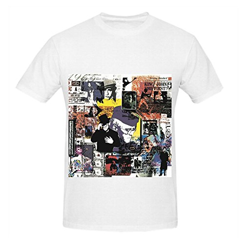 Elton John To Be Continued. Hits Men O Neck Art Shirt White