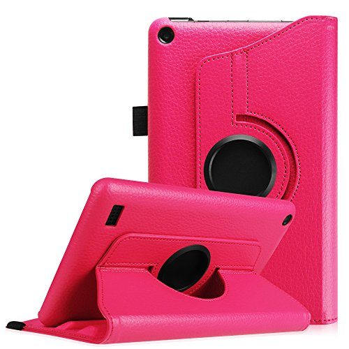 fintie-rotating-case-for-fire-7-2015-premium-pu-leather-360-degree-rotating-cover-swivel-stand-for-a