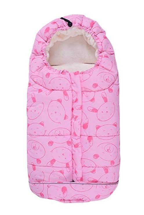 Saco de dormir para bebé, impermeable, para niños y niños, con asiento de