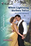 When Lightning Strikes Twice by Debrah Morris front cover