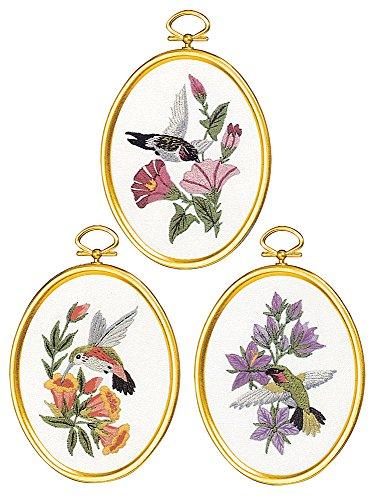 Janlynn 004-0864 Hummingbirds Cross Stitch ()