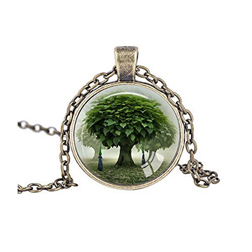 Darkey Wang Fashion Jewelry Unisex Love Tree Necklace Vintage (Transformer Costume Rental)