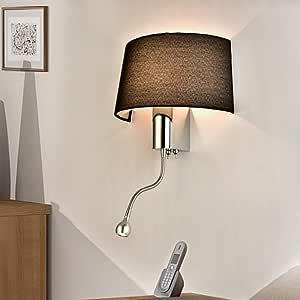 Mode einfachen stoff hotel wohnzimmer lampe schlafzimmer ...