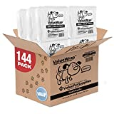 ValueWrap Disposable Male Dog Diapers, 2-Tab Small, 144 Count - Absorbent Male Wraps for Incontinence, Excitable Urination & Travel   Fur-Friendly Fasteners   Leak Protection   Wetness Indicator