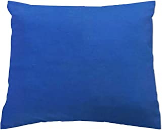 product image for SheetWorld - Baby Pillow Case - Percale Pillow Case - Deep Solids - Royal Blue - Made In USA