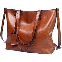 Ladies Leather Tote Purses Handbags Top Handle Bag Hobo Shoulder Crossbody Bags
