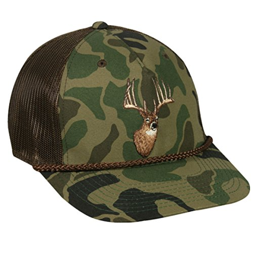 (Outdoor Cap Adjustable Closure Deer Logo Cap, Generic)
