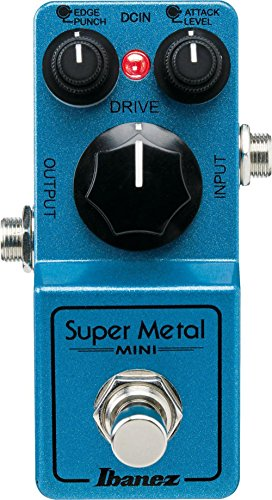 - Ibanez Super Metal Mini Pedal