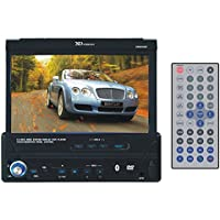 XO Vision X406NAV 7-Inch In-Dash Touch Screen DVD Player with Navigation System