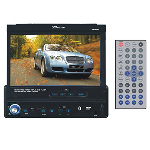 XOVision X406NAV 7-Inch In-Dash Touch Screen DVD Player w...