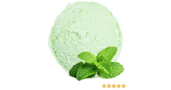 Sabor de hierbabuena 1 Kg Gino Gelati Polvo de hielo para helado de fruta Helado suave Helado en polvo