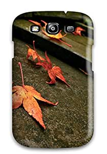 Hot Snap On Case Cover Skin For Galaxy S3(autumn Leaves)