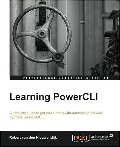 Book Learning PowerCLI by Robert van den Nieuwendijk (2014-02-14)
