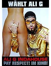 Ali G INDAHOUSE: Teaser (2002) | originele filmposter [DIN A1, 59 x 84 cm]