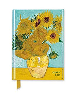 Van Gogh - Sunflowers Pocket Diary 2019: Amazon.es: Flame ...