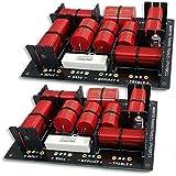2 x 3 voies de qualité Filtres Crossover pour haut-parleurs 400W