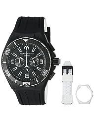 Technomarine Men's 'Cruise Night Vision' Quartz Stainless Steel Casual Watch (Model: TM-115056) by TechnoMarine