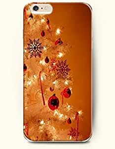 SevenArc Apple iPhone 6 Plus case 5.5 inches - Merry Xmas Christmas Tree Decoration