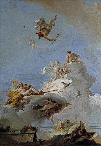 tiepolo-giambattista-el-olimpo-o-triunfo-de-venus-1761-64-oil-painting-18-x-26-inch-46-x-66-cm-print