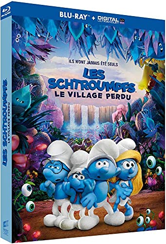 Les Schtroumpfs et Le Village Perdu [Blu-Ray + Copie Digitale]