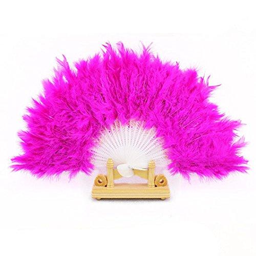 hand feather fan - 4