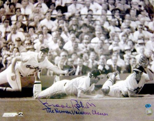 - Autographed Brooks Robinson Photograph - 16x20 inscribed Human Vacuum Cleaner Image 2 - Autographed MLB Photos