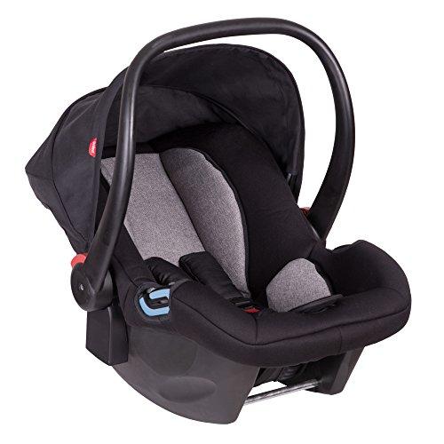 Phil & Teds Car Seat - Group 0 - Alpha Black / Grey