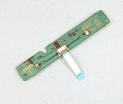 Power Reset Touch Switch PCB Board with Flex Ribbon Cable For PS3 Playstation 3 CSW-001 Replacement