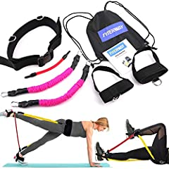 Want to firm and tighten the abs, glutes and legs? JINSHANGXUAN Booty belt can help you achieve your most desired goals when it comes to your bikini shape booty. This at home friendly resistance bands set is mainly designed for glutes workout...