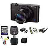 Sony Cyber-shot DSC-RX100M III Digital Camera DSCRX100M3 RX100M3 Bundle 2