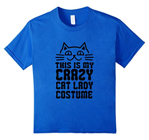 This is my crazy cat lady costume Funny T-shirt