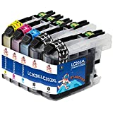 STAROVER Compatible Ink Cartridges Replacement For Brother 203 LC203 XL LC203XL Use In Brother MFC-J880DW MFC-J885DW MFC-J680DW MFC-J485DW MFC-J480DW MFC-J460DW (5 PK)