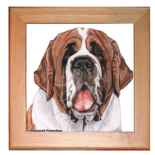 PIPS001 Animal Pet Gifts, Saint Bernard Trivet -