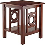 Zuo Ollie End Table, Walnut