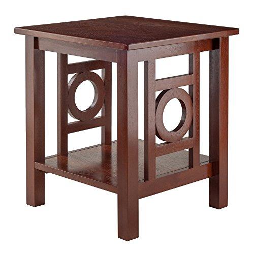 Zuo Ollie End Table, Walnut by Zuo