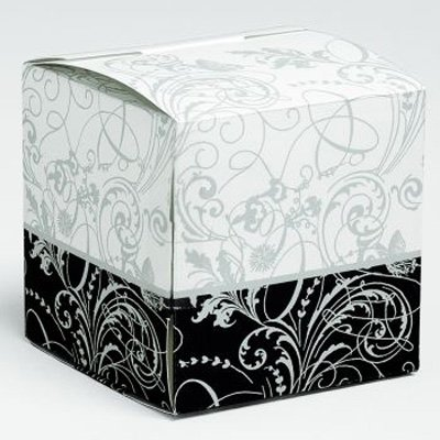 Silhouette Cake Boxes - Silhouette Decoration