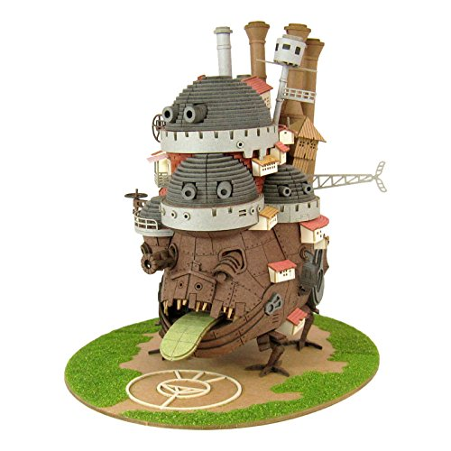 Studio Ghibli Series Howls Moving Castle Paper Craft
