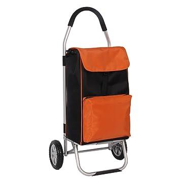 YAGEER xinliche Carro Maleta de aleación de Aluminio portátil Carrito de la Compra Equipaje Plegable pequeño Carro Impermeable Oxford Tela roja: Amazon.es: ...