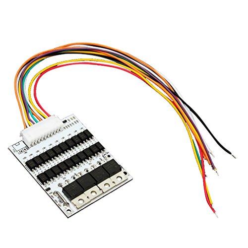 MagiDeal Carte de Protection de Batterie BMS PCB Board pour 10 Paquets 36V Lithium Li-ion