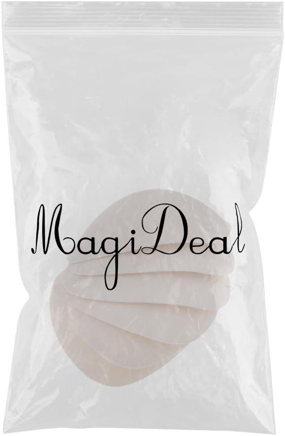 11.5cm 5 Pares de Almohadillas de Sujetador Triangulares Inserta Esponja Almohadilla de Empuje de Espuma para Trajes de Ba/ño MagiDeal 2//3 Blanco 5par